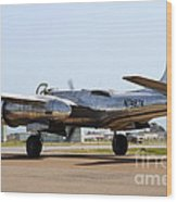 Douglas A26b Military Aircraft 7d15767 Wood Print by Wingsdomain Art and Photography