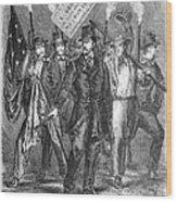 Douglas: Election Of 1860 Wood Print