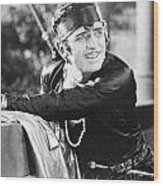 Douglas Fairbanks Wood Print