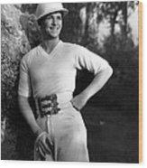 Douglas Fairbanks, Jr., 1930 Wood Print by Everett