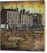 Douglas Harbour II Wood Print