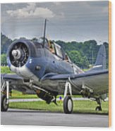 Douglas Sbd-5 Dauntless Wood Print