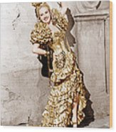 Down Argentine Way, Betty Grable, 1940 Wood Print