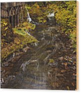 Down By The Old Mill Stream Wood Print