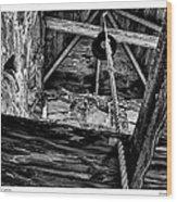 Downeast Bell Tower Wood Print
