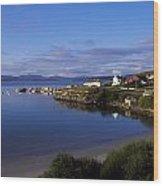 Downings, Rosguill Peninsula, Co Wood Print