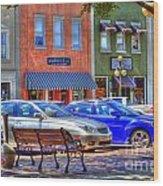 Downtown Georgetown Wood Print