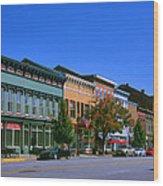Downtown Madison I Wood Print