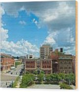 Downtown Montgomery Wood Print