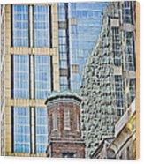 Downtown Nashville Wood Print