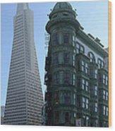 Downtown San Francisco 2 Wood Print