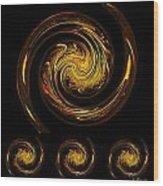Dragons IIi Wood Print