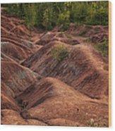Drainage Wood Print