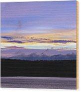 Dramatic Skies Wood Print