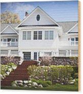 Dream House Wood Print