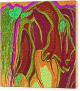 Dream In Color 2 Wood Print