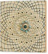 Dreamcatcher Wood Print by Yvonne Scott