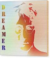 Dreamer 2 Wood Print