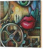 Dreamers 3 Wood Print by Michael Lang