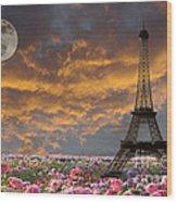 Dreaming Of Paris Wood Print