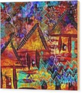 Dreamland - My Imaginary Getaway Wood Print