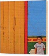 Dreams Of Kids Wood Print