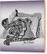 Dreams Of Metamorphosis Wood Print