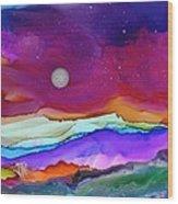 Dreamscape No. 160 Wood Print