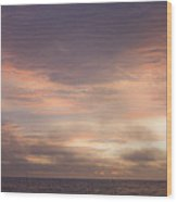 Dreamy Sunrise Over The Atlantic Wood Print