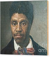 Dred Scott, African-american Hero Wood Print