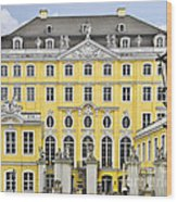 Dresden Taschenberg Palace - Celebrate Love While It Lasts Wood Print