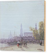 Dresden Wood Print