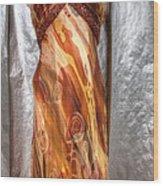Dress Doll Wood Print