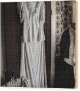 Dress Of Anna Jarvis Wood Print
