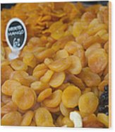 Dried Fruit For Sale Wood Print