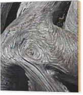 Driftwood Ridges 5 Wood Print