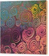 Drops Of Jupiter Wood Print