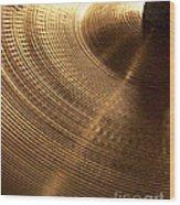 Drummers Music Wood Print