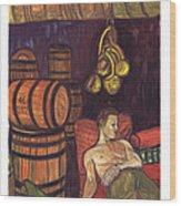 Drunken Arousal Wood Print