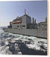 Dry Cargoammunition Ship Usns Richard Wood Print