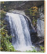 Dry Falls Wood Print