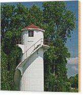 Dry Land Lighthouse 1 Wood Print
