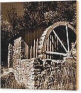 Dry Mill Wood Print