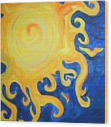 du Soleil Wood Print