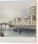 Dublin, 1842 Wood Print