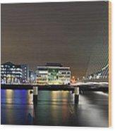 Dublin City Wood Print