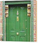 Dublin Door Three Wood Print