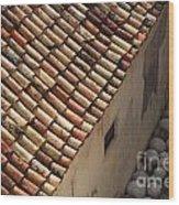 Dubrovnik Rooftop Wood Print