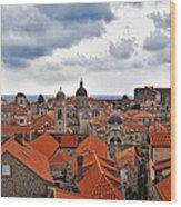 Dubrovnik View 7 Wood Print
