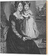 Duchess Of Kent & Victoria Wood Print